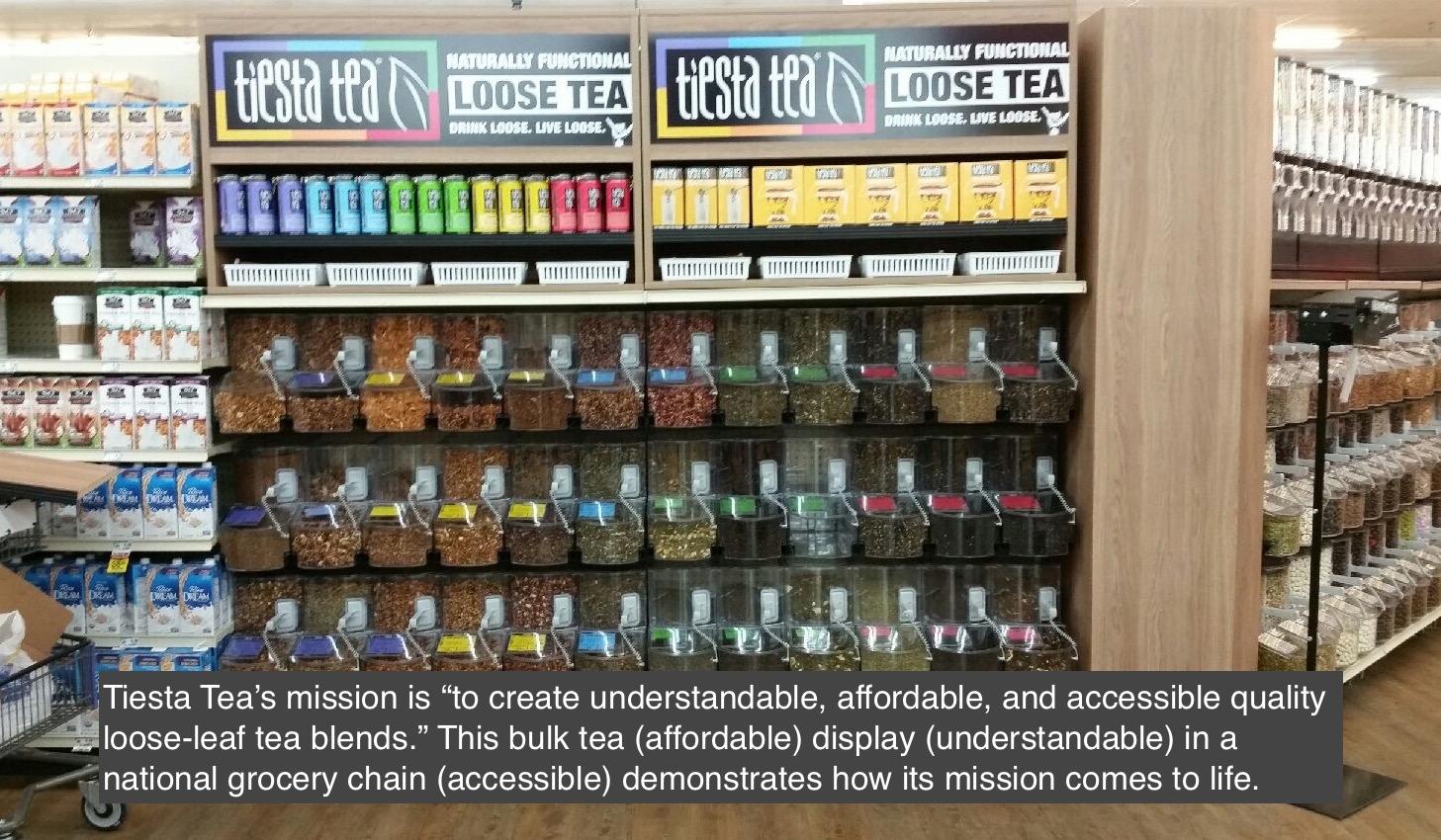 Tiesta Tea Mission